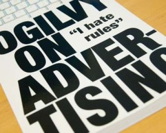"Book cover: ""Ogilvy on Advertising"""